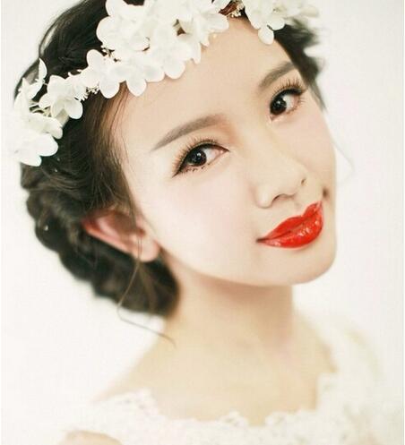 高贵典雅的欧式新娘妆造型